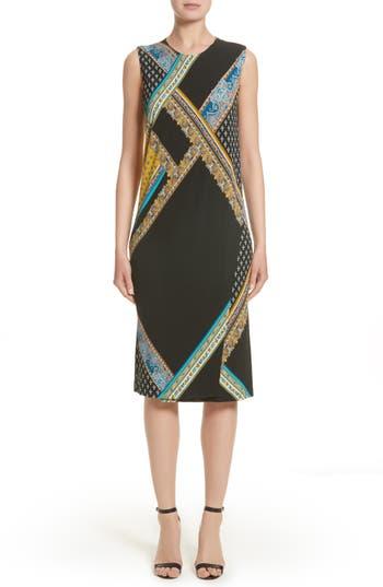 Etro Patchwork Print Jersy Dress
