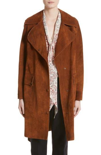 Belstaff Airdale Suede Coat