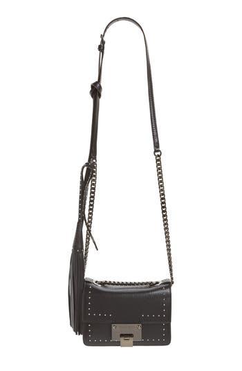 Jimmy Choo Mini Rebel Studded Leather Shoulder Bag