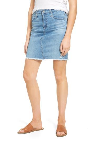 AG Erin Denim Miniskirt (20 Years Moonstruck)