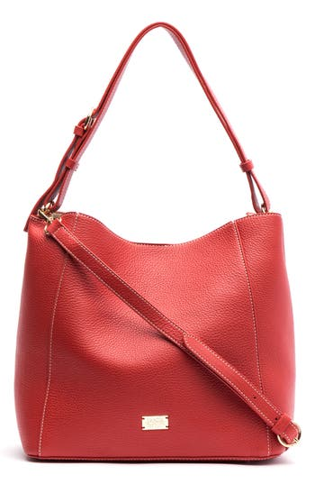 Frances Valentine Medium June Leather Hobo Bag