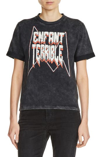 maje Enfant Terrible Graphic Tee