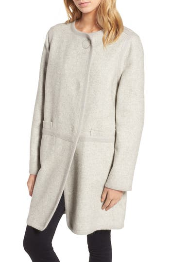 Diane von Furstenberg Wool Blend Coat