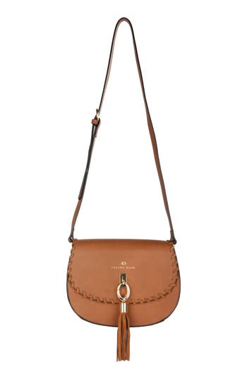 C?line Dion Espressivo Faux Leather Saddle Bag