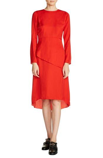 maje Tiered A-Line Dress