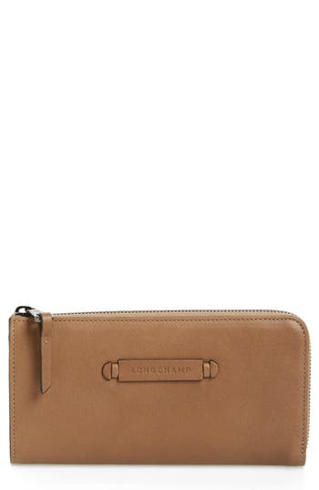 Longchamp 3D Leather Wallet