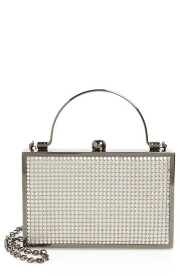 Whiting & Davis Bond Street Mesh Box Clutch