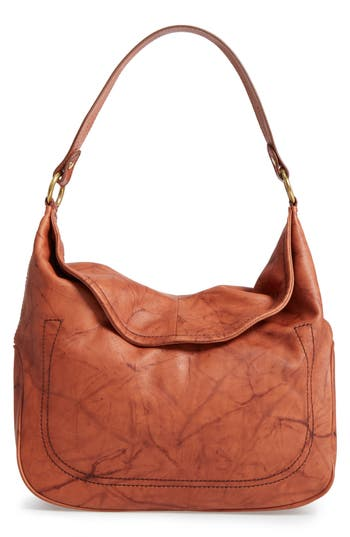 Frye Campus Rivet Leather Hobo