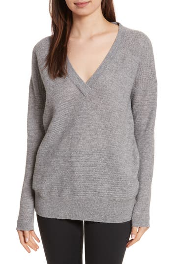 Allude Cashmere V-Neck Sweater