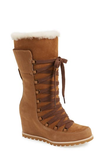 UGG? Mason Waterproof Wedge Boot (Women)