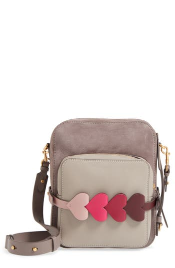 Anya Hindmarch Heart Link Leat..