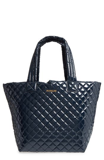 Mz Wallace Medium Metro Quilted Lacquer Tote Nordstrom