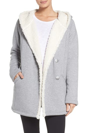 Zella Fleece Lined Hooded ..