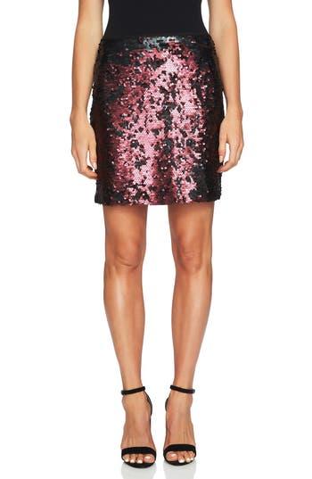 1.STATE Sequin Miniskirt