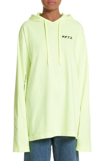 Vetements P.E.T.S. Jersey Pullover Hoodie