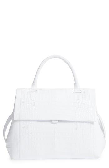 Nancy Gonzalez Medium Sophie Genuine Crocodile Top Handle Bag