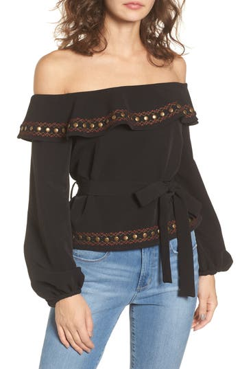 Tularosa Lucy Off the Shoulder Top