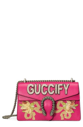 Gucci Small Dionysus Guccify Shoulder Bag