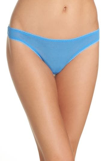 On Gossamer 'Hip-G' Mesh Thong (3 for $45)