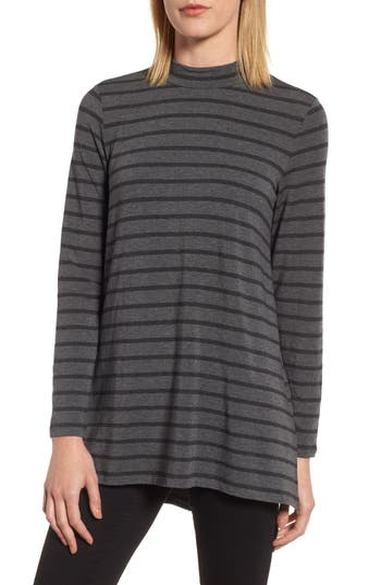 Eileen Fisher Stripe Stretch T..