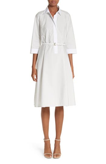 Parola Cotton Shirtdress by Max Mara