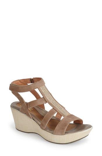 Naot 'Mystery' Platform Wedge Sandal (Women)