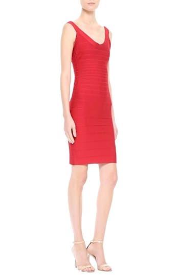'Sydney' U-Neck Bandage Dress, video thumbnail
