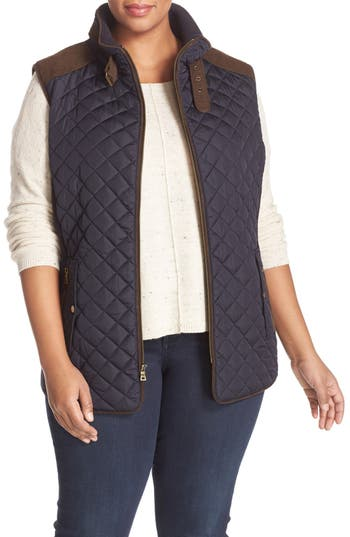 Gallery Quilted Vest with ..