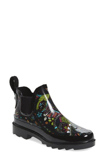 Sakroots 'Rhyme' Waterproof Rain Boot (Women)