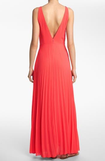 Alternate Image 2  - Like Mynded Pleated Maxi Dress