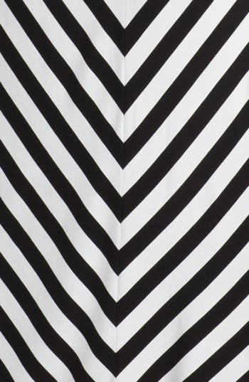 Alternate Image 3  - Calvin Klein Belted Stripe Maxi Dress (Petite)