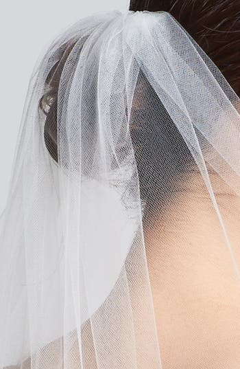 Alternate Image 2  - Wedding Belles New York 'Lola' Lace Border Veil (Nordstrom Exclusive)