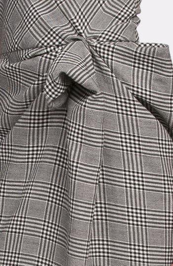 Alternate Image 3  - Lanvin Side Drape Plaid Dress