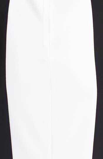Alternate Image 3  - BCBGMAXAZRIA Cutout Colorblock Sheath Dress