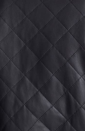 Alternate Image 4  - Truth & Pride Quilted Leather Bomber Jacket