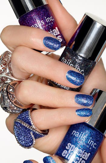 Alternate Image 2  - nails inc. London 'Special Effects - 3D' Glitter Nail Polish