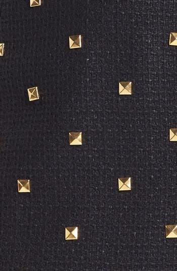 Alternate Image 3  - kate spade new york 'harper' studded tweed miniskirt