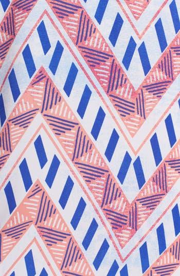 Alternate Image 3  - Lush Back Cutout Print Maxi Dress (Juniors)