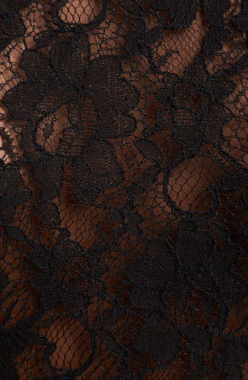 Alternate Image 3  - BB Dakota 'Cynthia' Lace Back Peplum Top