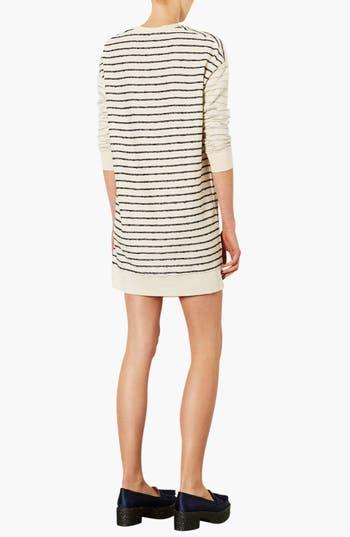 Alternate Image 2  - Topshop Stripe Sweater Dress