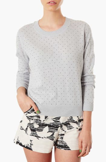 Alternate Image 1 Selected - Topshop Embellished Sweater