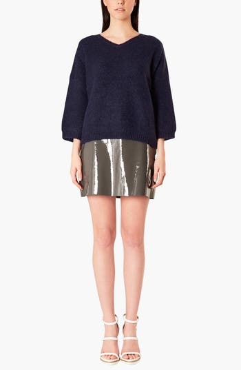 Alternate Image 3  - Topshop Boutique V-Neck Slouchy Sweater
