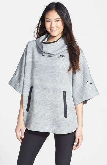 Nike Tech Fleece Hooded Poncho Nordstrom
