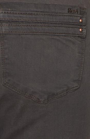 Alternate Image 3  - HART Denim Overdyed Skinny Jeans (Brown) (Juniors)