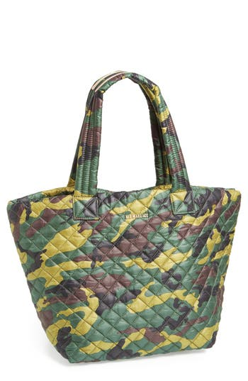 MZ Wallace 'Medium Metro - Camo' Quilted Oxford Nylon Tote