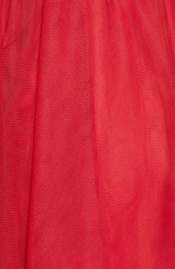 Alternate Image 4  - Sequin Hearts Single Shoulder Party Dress (Juniors)