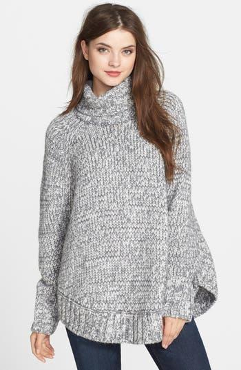 Michael Michael Kors Turtleneck Poncho Sweater Nordstrom