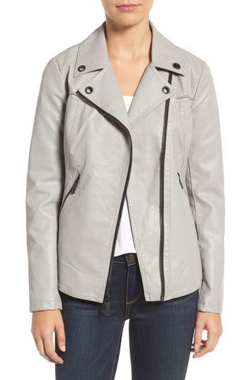 GUESS Faux Leather Moto Ja..