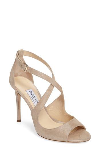 Jimmy Choo Emily Peep Toe Sandal (Women)