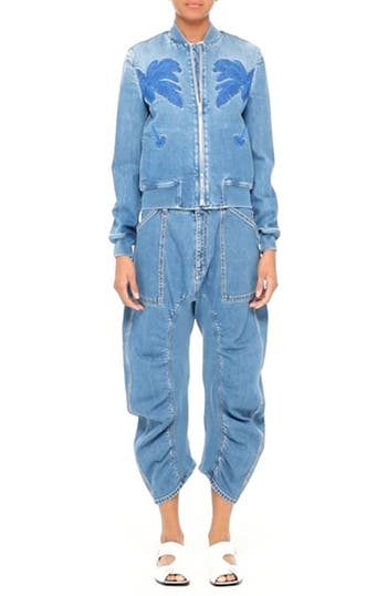 Xenia Ruched Crop Jeans, video thumbnail